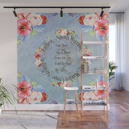 I am hers and she is mine. GOT Wedding Vows Wall Mural