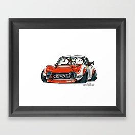 Crazy Car Art 0136 Framed Art Print