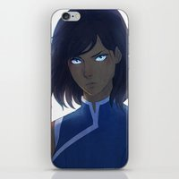 korra iPhone & iPod Skins featuring Korra by Nymre