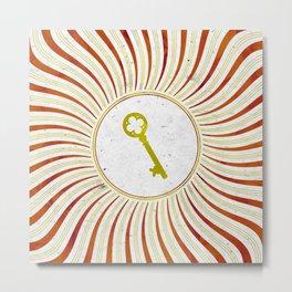 Phantom Keys Series - 10 Metal Print