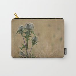 Spear Thistle Carry-All Pouch