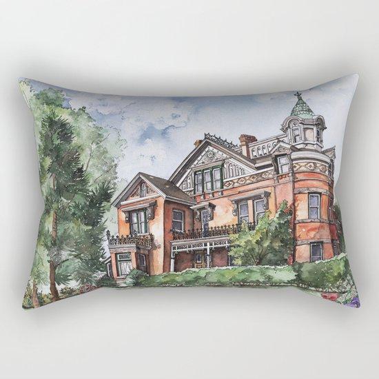 Armstrong Mansion Rectangular Pillow