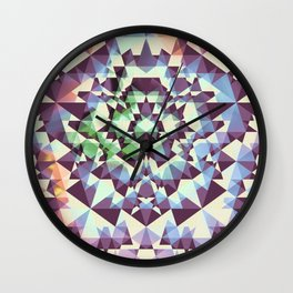 Cyans of the Five Wall Clock