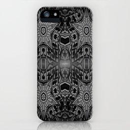 Black Gothic Stars iPhone Case