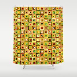 Pattern of Love Shower Curtain