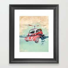 Isetta  all terrain vehicle Framed Art Print