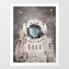 Hello World Art Print