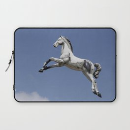 Escaped carousel horse Laptop Sleeve