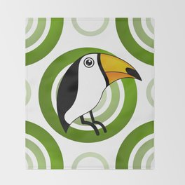 Toucan Throw Blanket