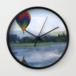 Hot Air Balloon #2 Wall Clock