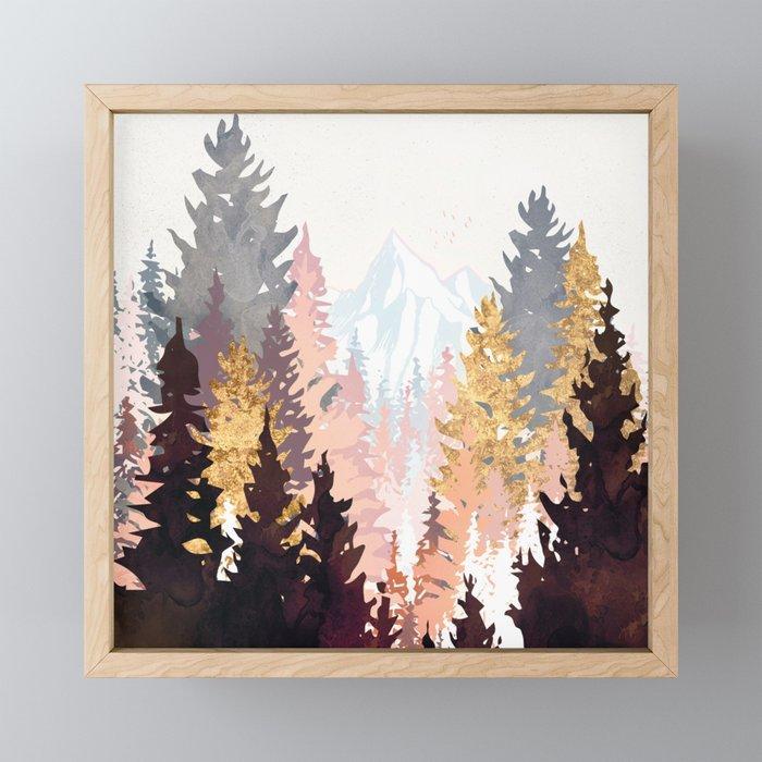 Wine Forest Framed Mini Art Print