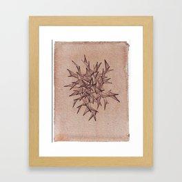 burst (Thorn series #2) Framed Art Print