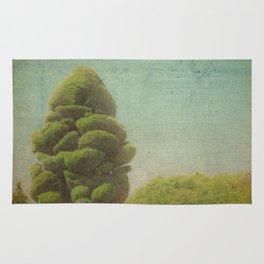 Fluffy Tree Rug