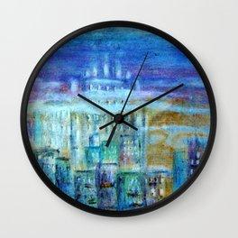 Italy by night Wall Clock