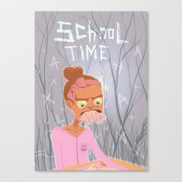 school time Canvas Print