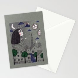 Above the Rooftops Stationery Cards