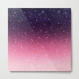 Ombre glitter #11 Metal Print