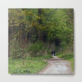 Millington Wood. Metal Print