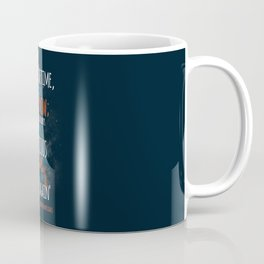 """""""Live now; make now always the most precious time. Now will never come again"""" Captain Picard Coffee Mug"""