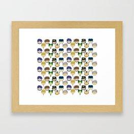 Jojo Beans! Framed Art Print