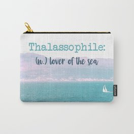 Thalassophile Carry-All Pouch