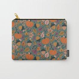 Fall Pumpkin Field Carry-All Pouch