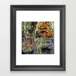 Tableau of Archetypal Structures Framed Art Print