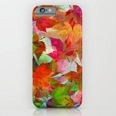 Autumn Leaves Slim Case iPhone 6