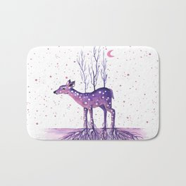 Rooted Deer Bath Mat