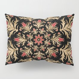 Turkish tulip - Ottoman tile 3 Pillow Sham