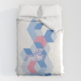 Ancient Greece Brutalism Comforters