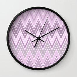 Zigzag Retro Wall Clock