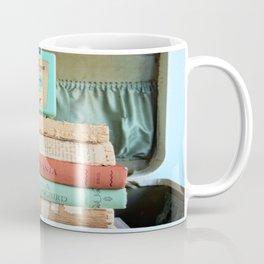 Vintage Suitcase - To Kill a Mockinbird / My Antonia Coffee Mug