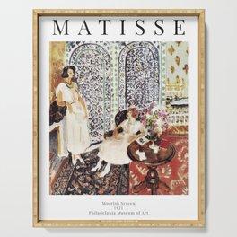 Henri Matisse - Moorish Screen - Exhibition Poster Serving Tray