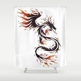Spirit of Fire Dragon Shower Curtain