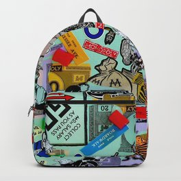Vintage Monopoly Game Memories Backpack