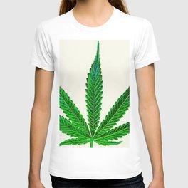 nature. electrified. - flora - hemp T-shirt