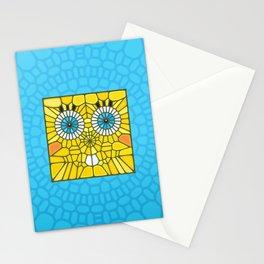 Spongebob Voronoi Stationery Cards