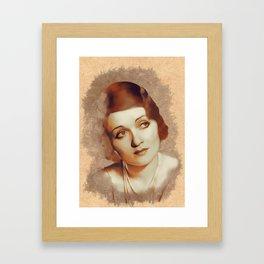 Constance Bennett, Hollywood Legend Framed Art Print