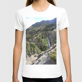 The Uncompahgre Gorge - From the Base of Bear Creek Falls T-shirt