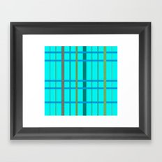 Laced Framed Art Print
