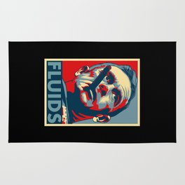 "Jack D. Ripper ""Fluids"" Poster Rug"