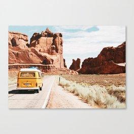 Van Life / Utah Canvas Print