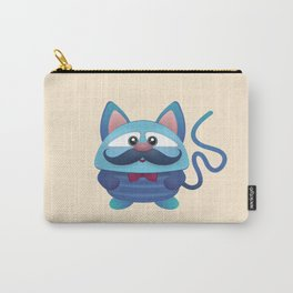 Blue Mutant Cat Carry-All Pouch