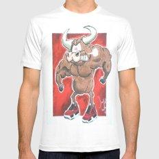 Toro Toro 2 White Mens Fitted Tee MEDIUM