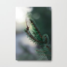 Stand there tall. Metal Print
