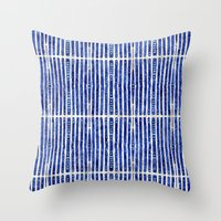 bamboo Throw Pillows featuring Bamboo by 83 Oranges™