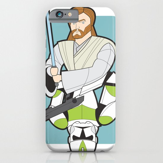 Obi-wan and Clone Trooper iPhone & iPod Case