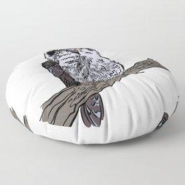 Kookaburra bird cartoon gifts Floor Pillow