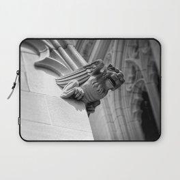 Smiling Gargoyle Laptop Sleeve